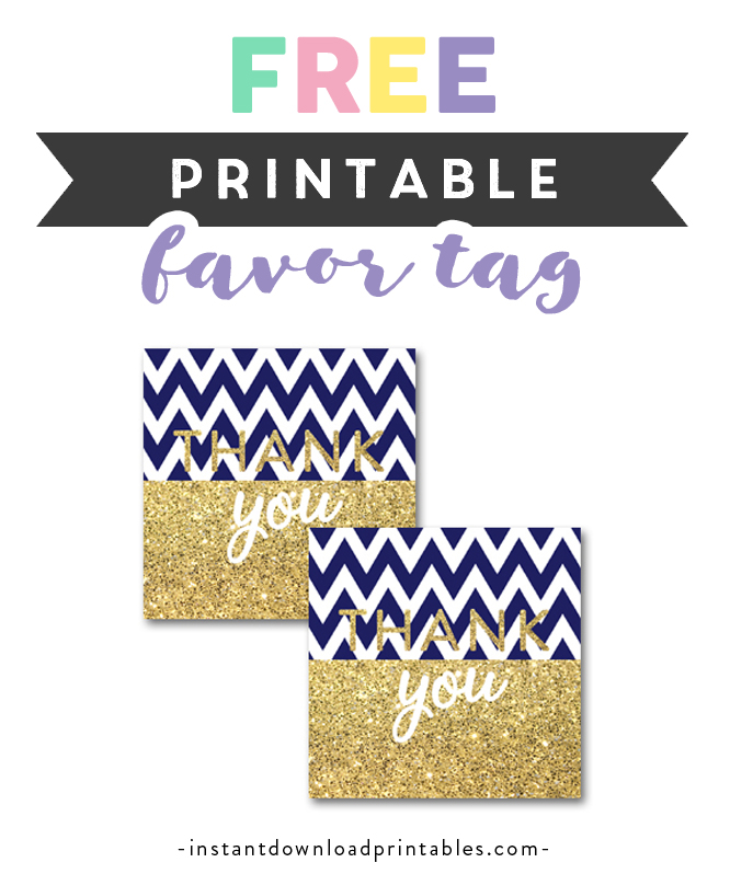 graphic about Free Printable Baby Shower Tags identified as No cost Printable Child Shower Army Blue Chevron Gold Glitter