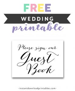 image regarding Free Printable Wedding Signs referred to as Wedding ceremony Indicators Archives - Instantaneous Obtain Printables