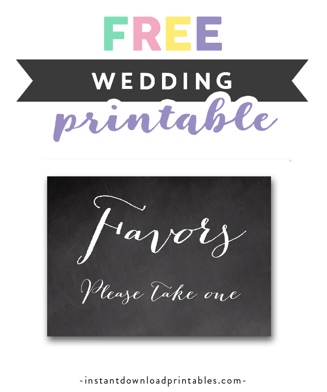 image relating to Free Printable Please Take One Sign named Totally free Printable Marriage ceremony Indication Chalkboard - Favors You should Just take