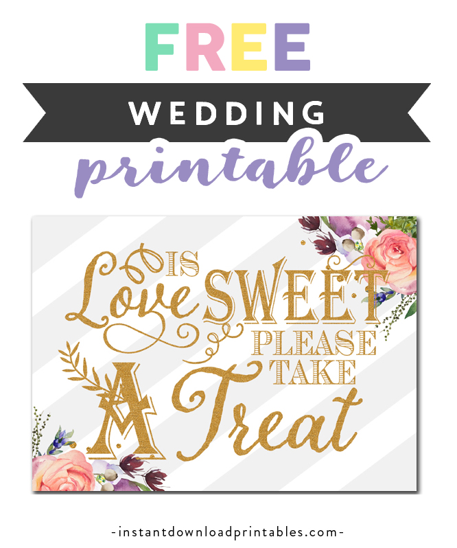 photo regarding Free Printable Please Take One Sign identify Absolutely free Printable Wedding ceremony Signal - Enjoy is Cute You should Choose a
