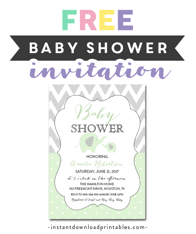 Free Printable Editable Pdf Baby Shower