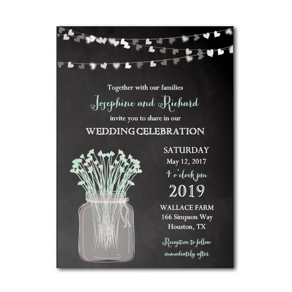 Free Printable Editable Pdf Wedding Invitation Diy Rustic Country