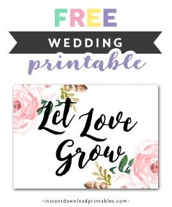 photo about Free Printable Please Take One Sign titled Marriage Indicators Design 5 Archives - Instantaneous Down load Printables